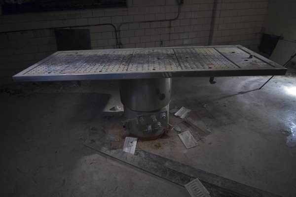 Autopsy Table; Northampton State Hospital