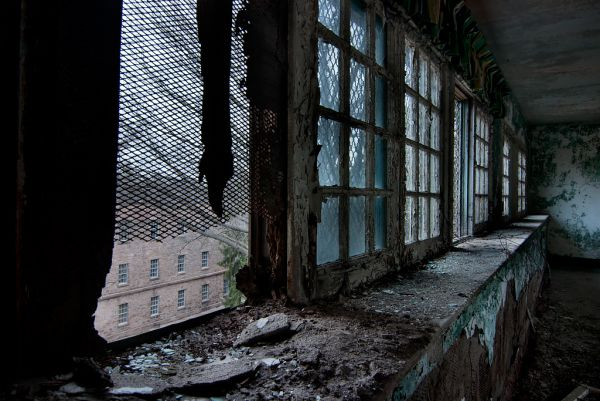 Photo of the abandoned Rathen State Hospital an undisclosed place in United States of America