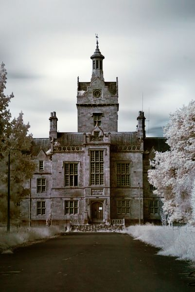 Photo of the abandoned North Wales Hospital (Denbigh Asylum) in Denbigh, Denbighshire Wales
