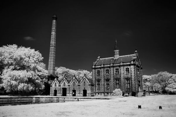 Photo of the abandoned Ryhope Pumping Station in Ryhope, Sunderland England