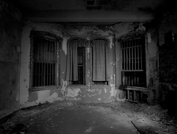 Curtains Over the Bars; Danvers State Hospital