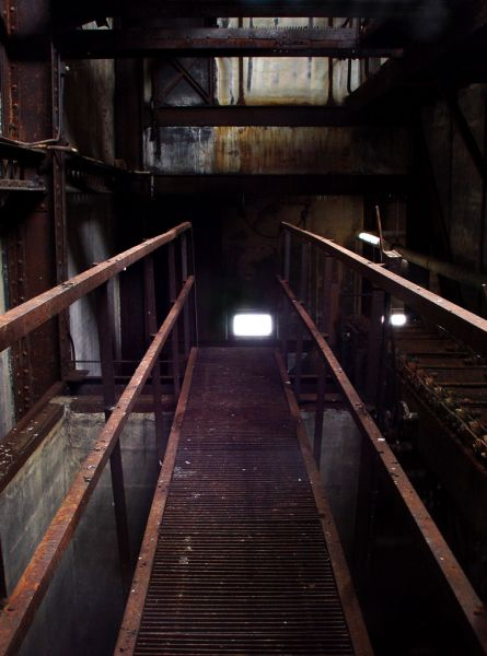 Catwalk; Glenwood Power Plant