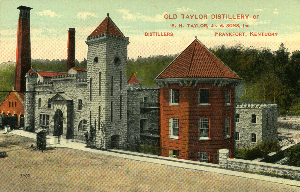 Old Taylor Distillery An Abandoned Distillery In