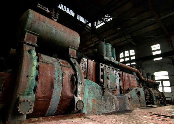 Engine; Bethlehem Steel Mill