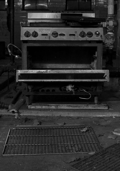 Oven; Philadelphia State Hospital (Byberry)