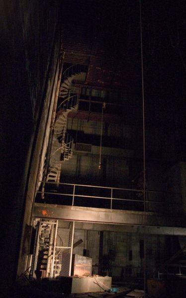 Spiral Staircase; Philadelphia State Hospital (Byberry)