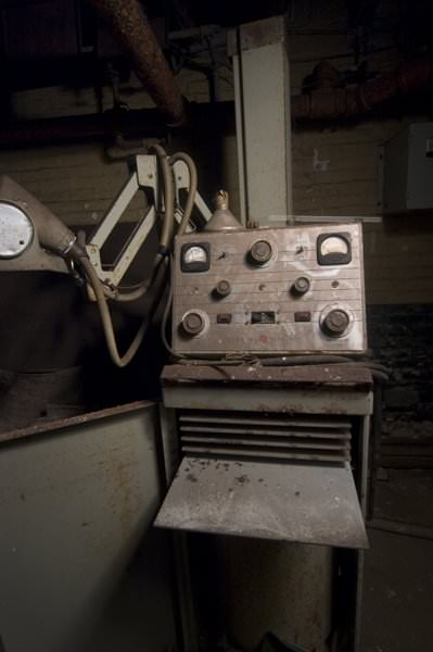 X-Ray; Northampton State Hospital
