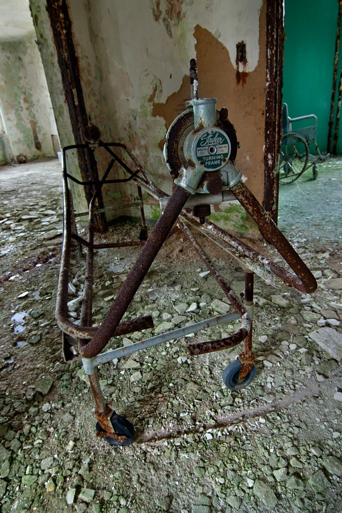 Stryker Turning Frame - Photo of the Abandoned Rathen ...