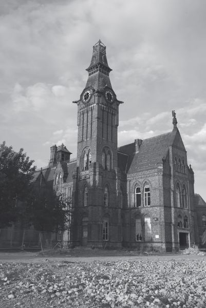 Photo of the abandoned Barnes Hospital in Cheadle, Cheshire England