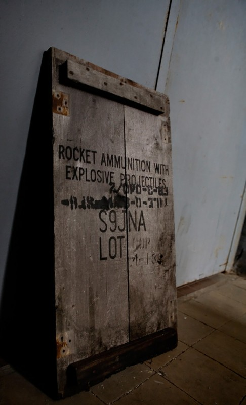 Rocket Ammunition; Saint Remigius Military Hospital