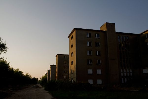 Photo of the abandoned Prora KdF Seaside Resort in Prora, Mecklenburg-Vorpommern Germany