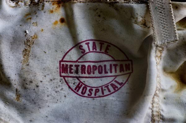 Metropolitan State Logo; Metropolitan State Hospital