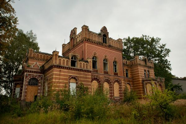 Photo of the abandoned Gentzrode in Neuruppin, Brandenburg Germany