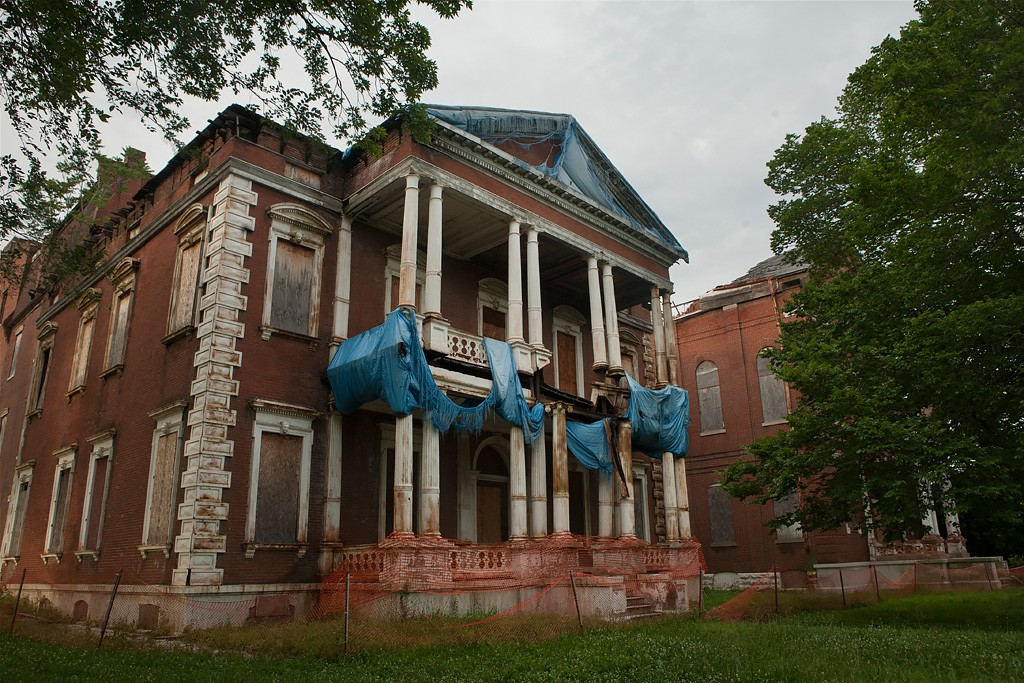 James Clemens House an Abandoned Residence in St Louis MO