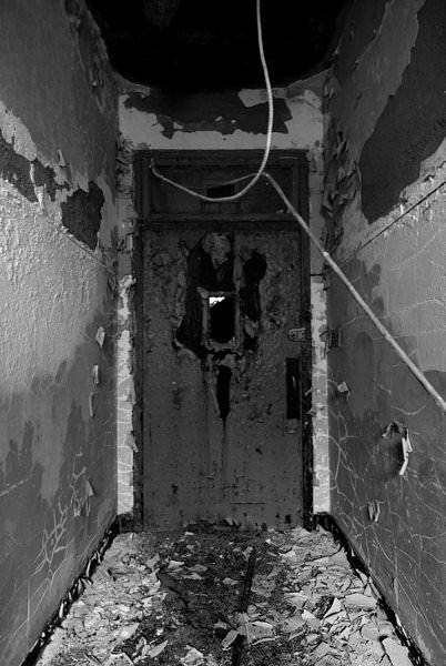 Morgue Entrance; Fuller State School and Hospital