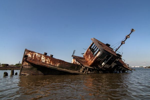 The Bayou Plaquemine; Staten Island Boat Graveyard