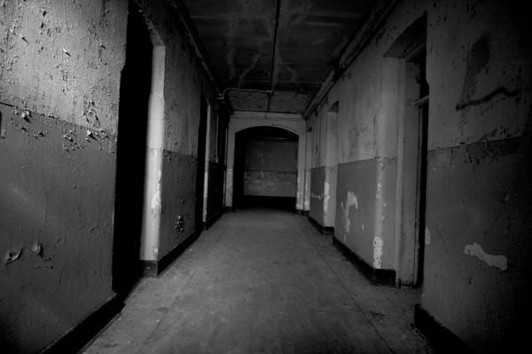 Hallway Photo Of The Abandoned Worcester State Hospital