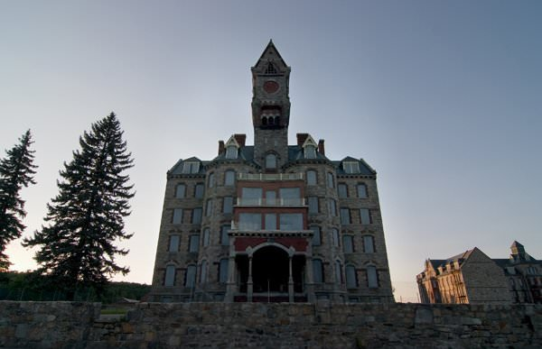 what is left photo of the abandoned worcester state hospital
