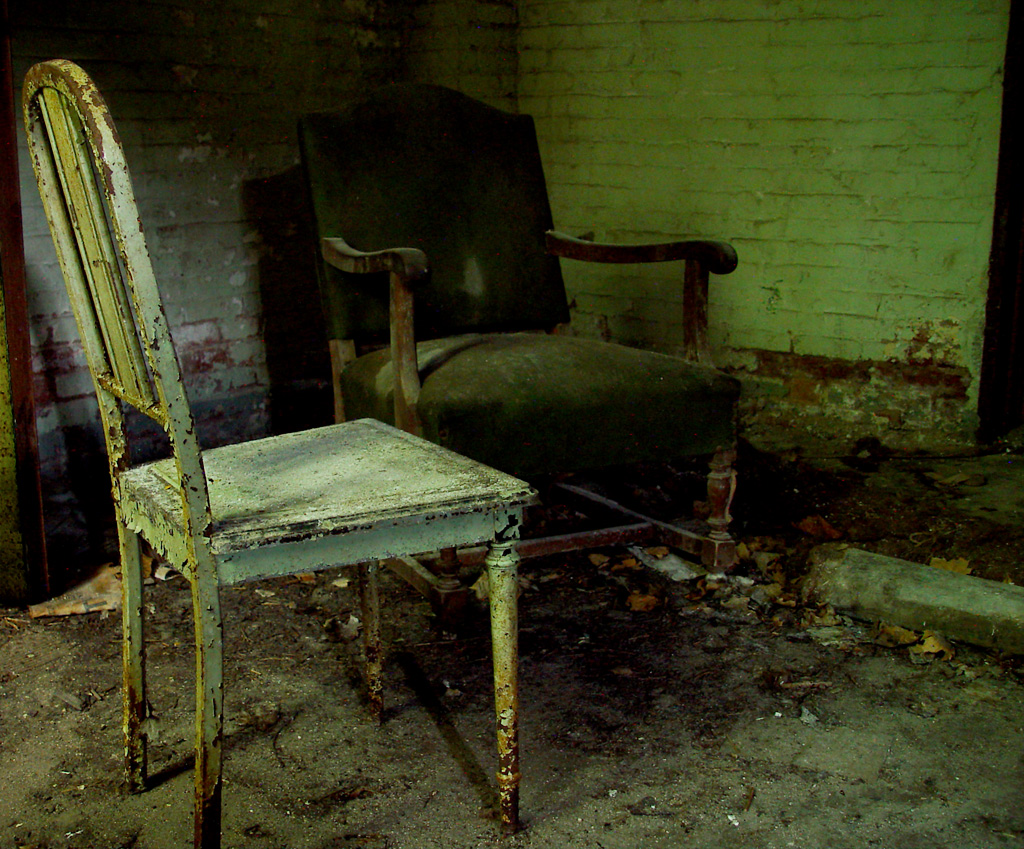 Chairs - Photo of the Abandoned Essex County Isolation ...