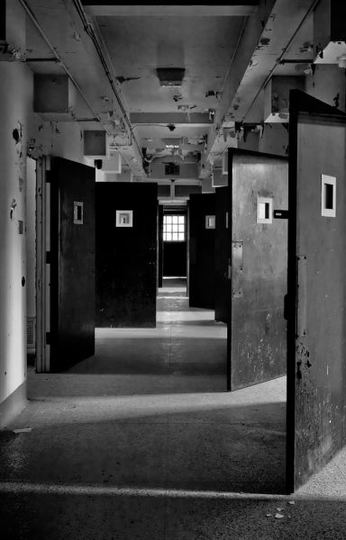 Photo of the abandoned Marquette State Hospital an undisclosed place in United States of America