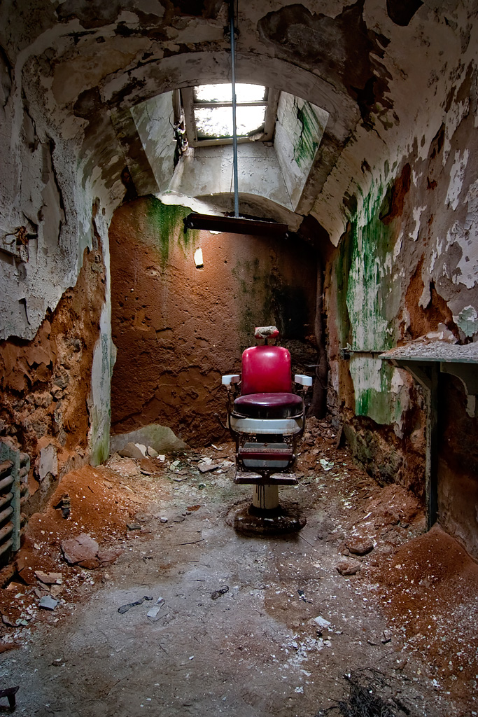 The Chair Photo Of The Abandoned Eastern State Penitentiary